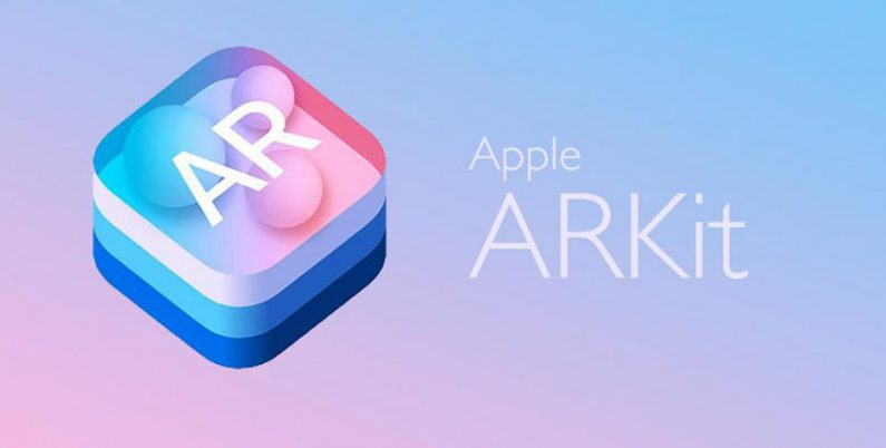 image of Apple's ARKit logo