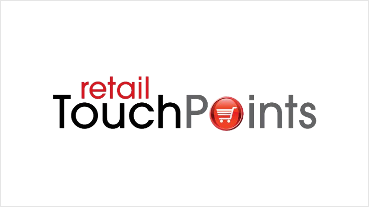 A logo that reads, retail touch points